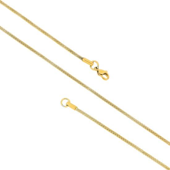 Unisex Steel Necklace 8524
