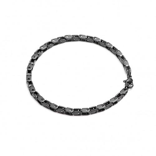 İnce Kare Çelik Zincir Bileklik