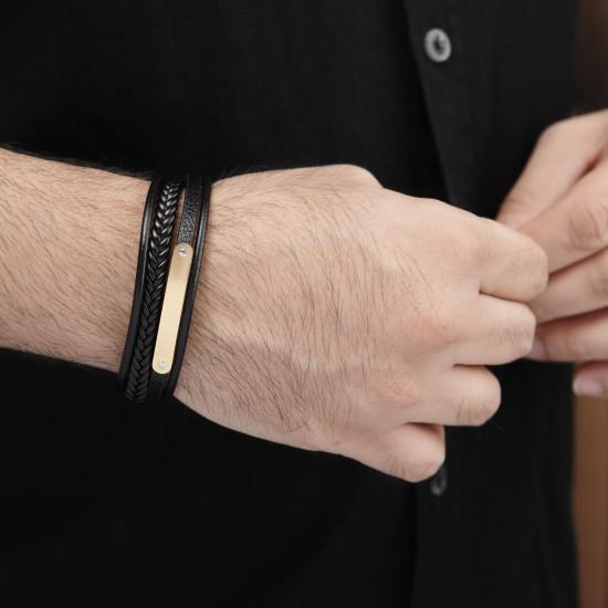 Strap Steel Bracelet 8316