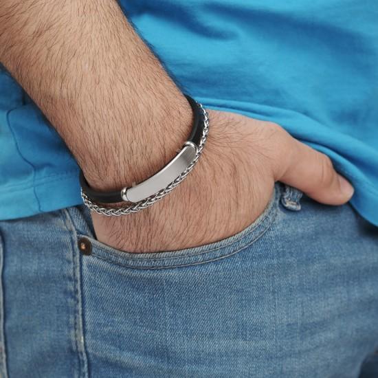 Strap Steel Bracelet 8331