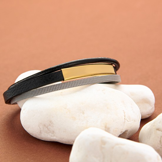 Strap Steel Bracelet 8333