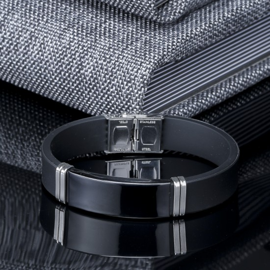 Strap Steel Bracelet 6417