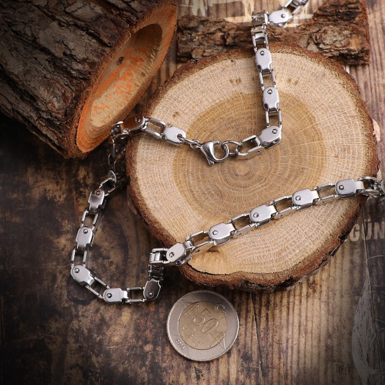 Unisex Steel Necklace 4710