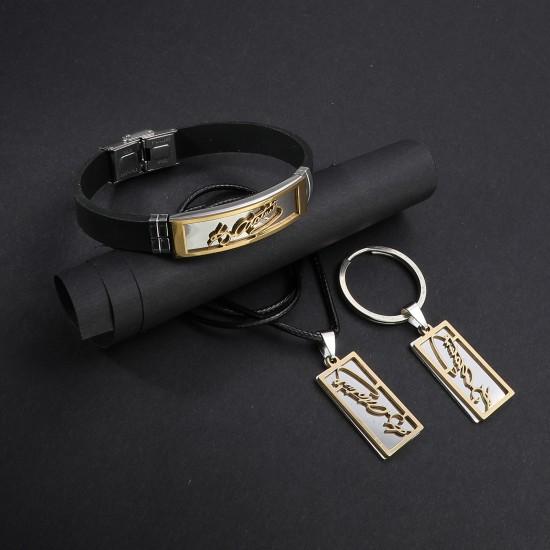 Strap Steel Bracelet 6291