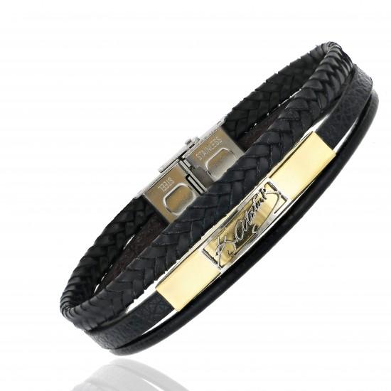 Strap Steel Bracelet 8665