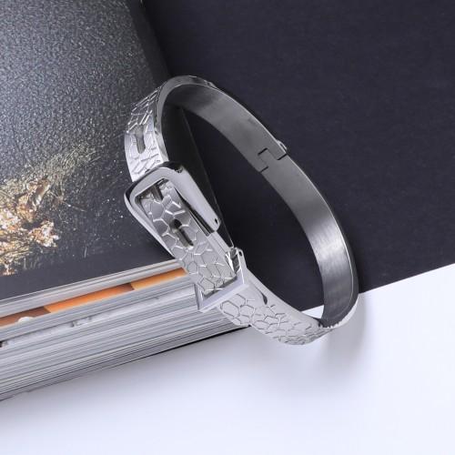 Kemer Tokalı Çelik Bileklik