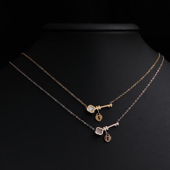 Women Steel Necklace 4817