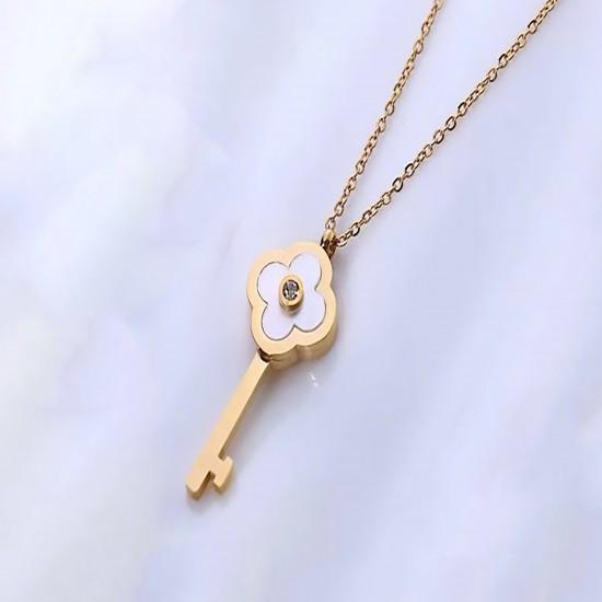 Women Steel Necklace 4814