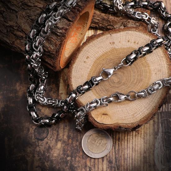 Unisex Steel Necklace 4722