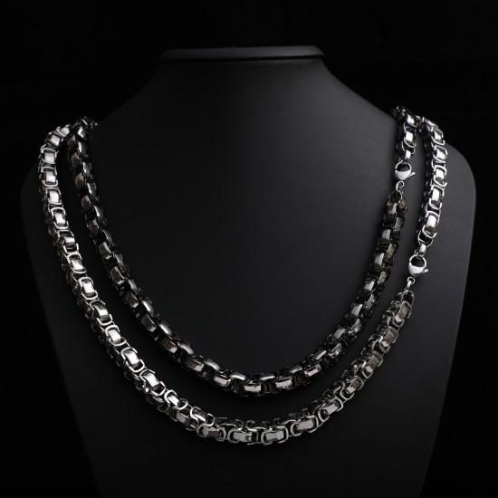Unisex Steel Necklace 4723