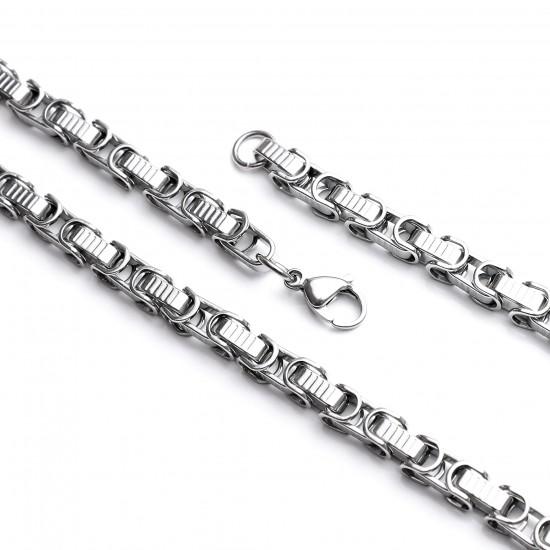 Unisex Steel Necklace 4725
