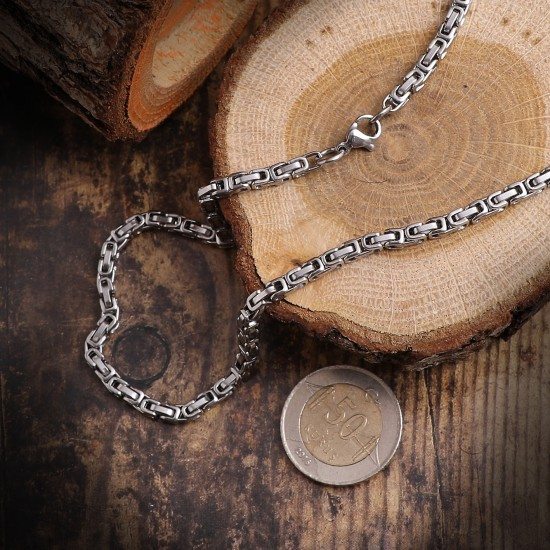 Unisex Steel Necklace 4699