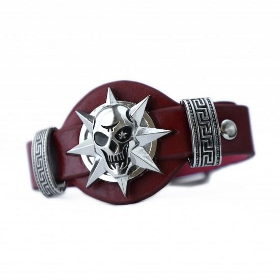 Leather Bracelet 597