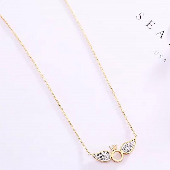 Women Steel Necklace 4802
