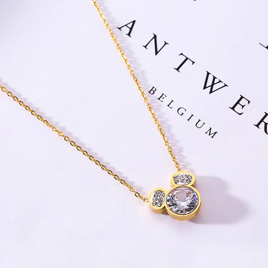 Women Steel Necklace 4815