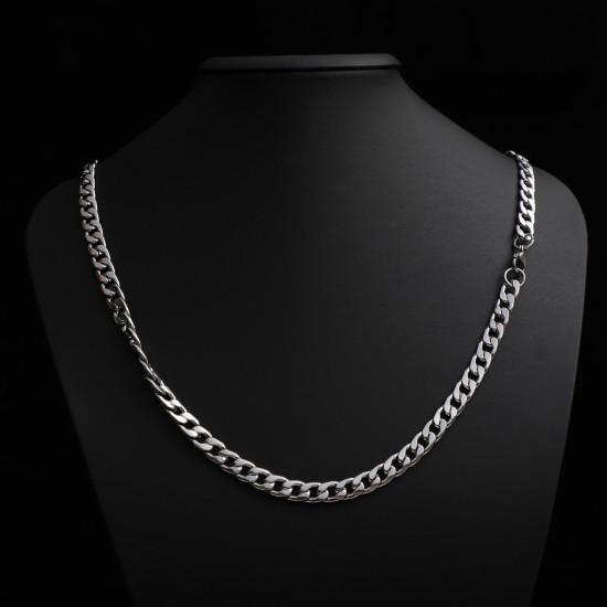 Unisex Steel Necklace 4668