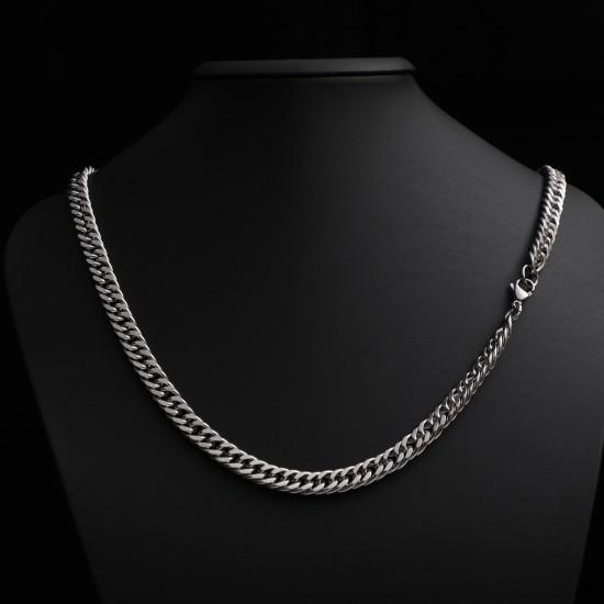 Unisex Steel Necklace 4688
