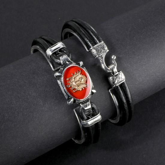 Leather Bracelet 6157
