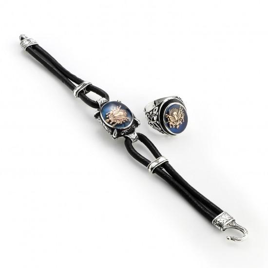 Leather Bracelet 6220