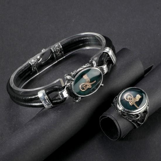 Leather Bracelet 6217