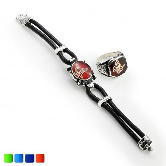 Leather Bracelet 6221