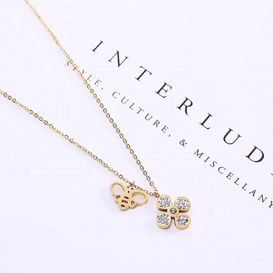 Women Steel Necklace 4800