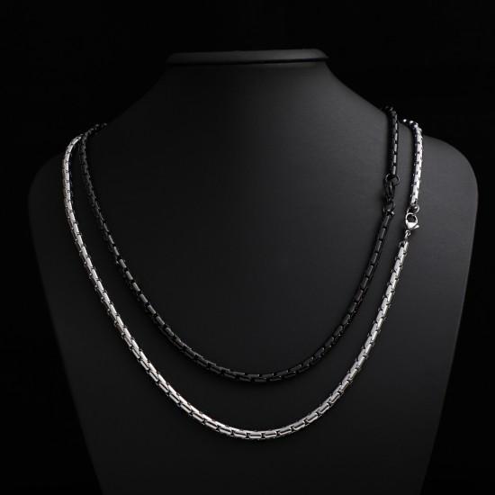Unisex Steel Necklace 4718