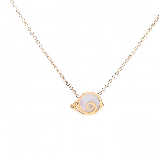 Women Steel Necklace 4806