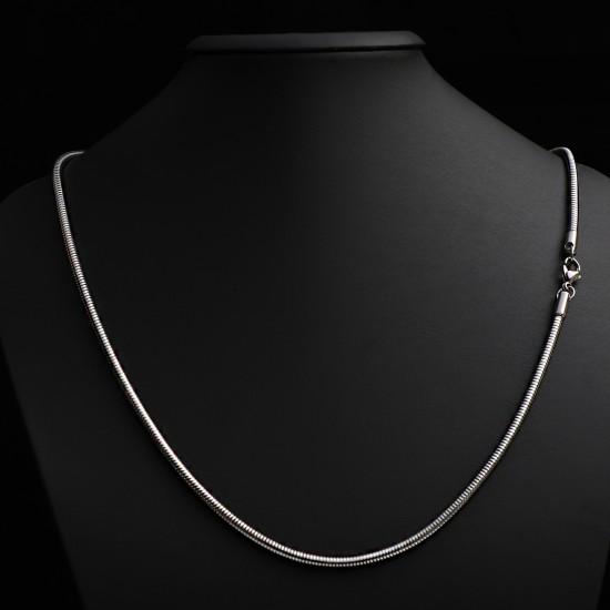 Unisex Steel Necklace 4689