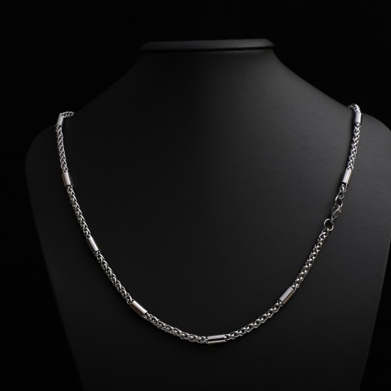 Unisex Steel Necklace 4698