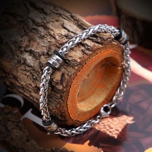 Sarmal Çelik Zincir Bileklik