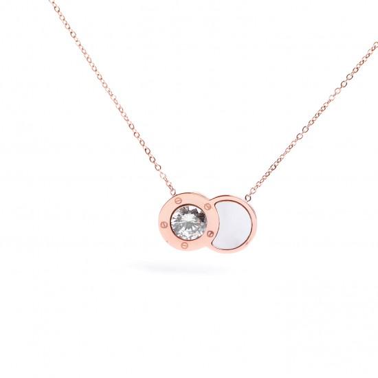 Women Steel Necklace 4878