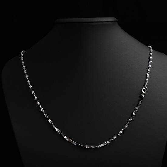 Unisex Steel Necklace 4669
