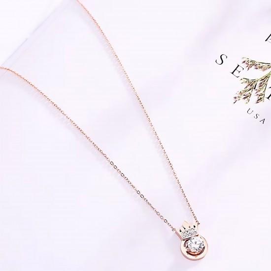 Women Steel Necklace 4803