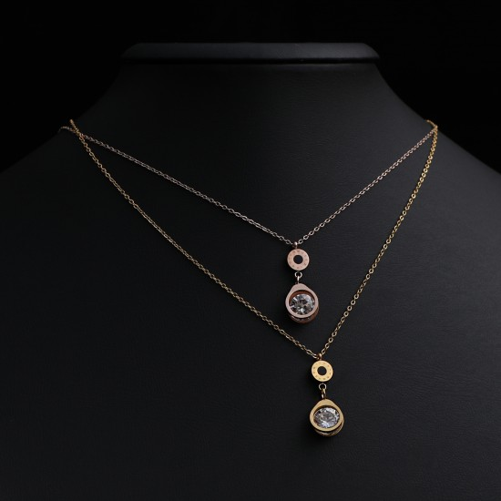 Women Steel Necklace 4808