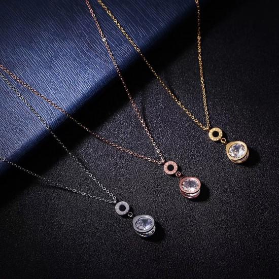 Women Steel Necklace 4808