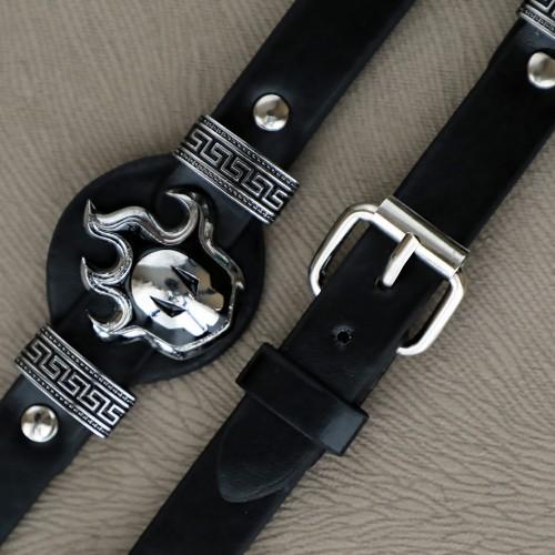 Titan Naruto Leather Bracelets Anime Deri Bileklik