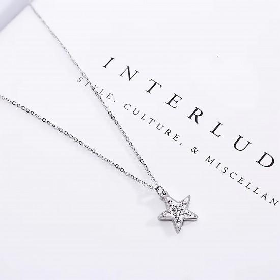 Women Steel Necklace 4813