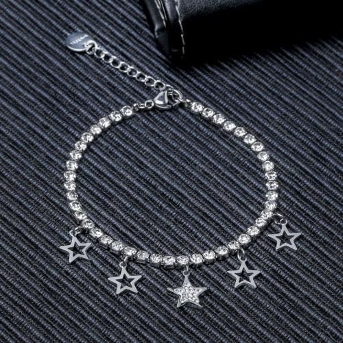Yıldız Pandora Su Yolu Çelik Bileklik