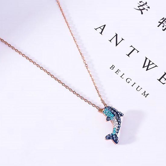 Women Steel Necklace 4796