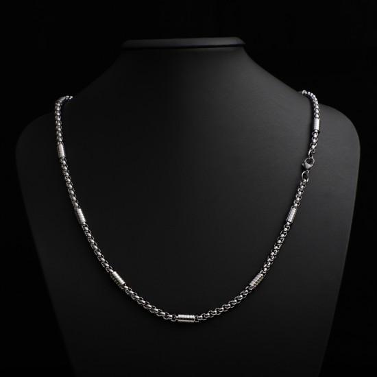 Unisex Steel Necklace 4697