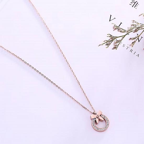 Women Steel Necklace 4880