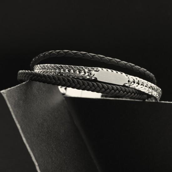 Strap Steel Bracelet 8329
