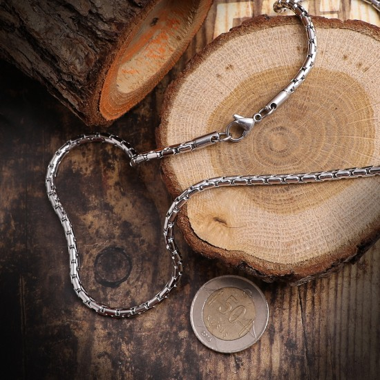 Unisex Steel Necklace 4691