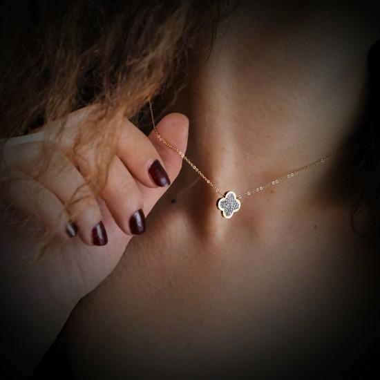 Women Steel Necklace 4804
