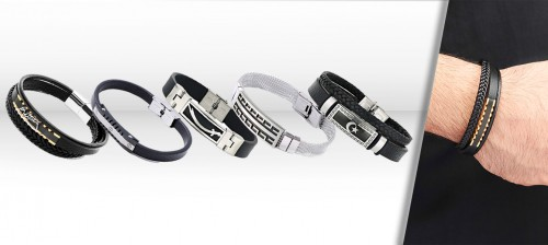 Wholesale Corded Steel Bracelet Models