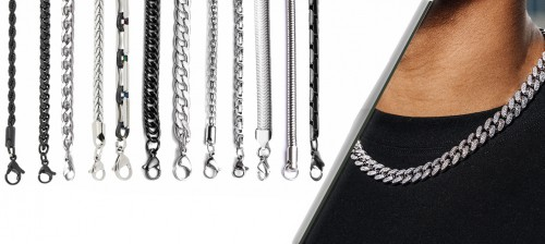 Wholesale Steel Necklace Models