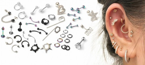 Wholesale Steel Piercing Models